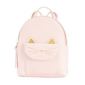 T-Shirt & Jeans Kitty Pocket Mini Backpack