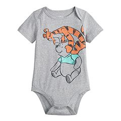 Disney's Winnie the Pooh Baby Boy Tigger & Pooh Bodysuit by Jumping Beans®