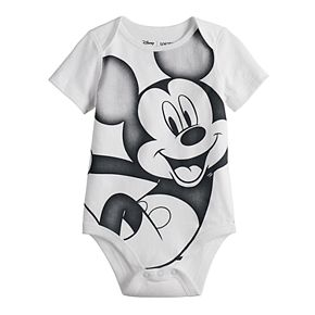 Disney's Mickey Mouse Baby Boy Graphic Softest Bodysuit by Jumping Beans®