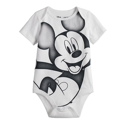 f55508474 Disney's Mickey Mouse Baby Boy Graphic Softest Bodysuit by ...