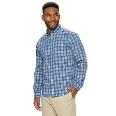 Men's SONOMA Goods for Life™ Perfect Length Button-Down Shirt