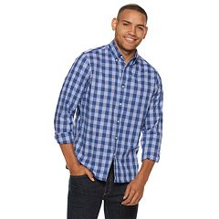 Men's SONOMA Goods for Life™ Flexwear Poplin Button-Down Shirt