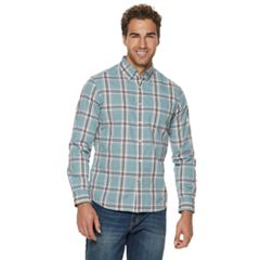 Men's SONOMA Goods for Life™ Flexwear Poplin Button-Down Shirt