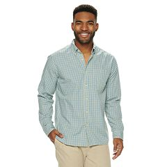 0dd160443 Men's SONOMA Goods for Life™ Perfect Length Button-Down Shirt