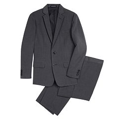 Boys 8-18 Van Heusen Pinstriped 2-Piece Suit Set