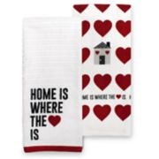 Celebrate Valentine's Day Together Home Kitchen Towel 2-pack