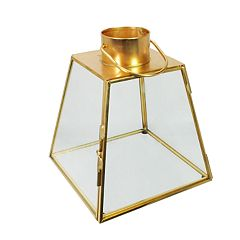 SONOMA Goods for Life™ Small Faux Gold Lantern