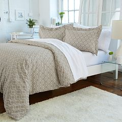 Great Bay Home Jasmine Printed Duvet Cover Set