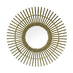 SONOMA Goods for Life™ Rattan Starburst Mirror
