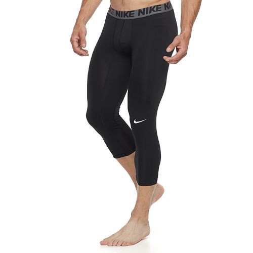 c9ecea16c624e Men's Nike Three-Quarter Base Layer Tights