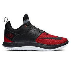 reputable site 333c4 0fbd6 Nike Fly.By Low II Men s Basketball Shoes. Black White Gunsmoke Gray Black  Red ...