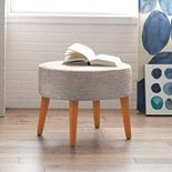 SONOMA Goods for Life? Upholstered Oval Ottoman