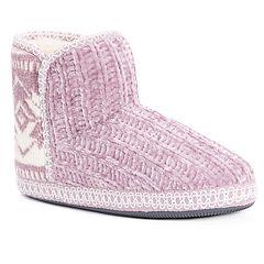 Women's MUK LUKS Karter Bootie Slippers