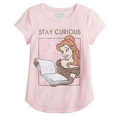 Disney's Beauty and the Beast Belle Girls 4-12 'Stay Curious' Graphic Tee by Jumping Beans®