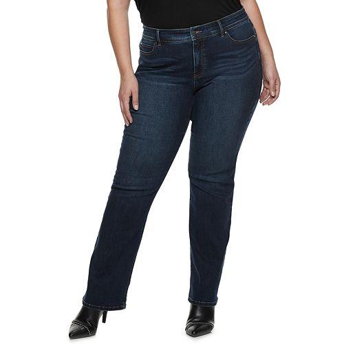 Plus Size Apt. 9® Tummy Control MidRise Bootcut Jeans