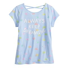069f7704 Girls 4-12 Jumping Beans® Crisscross-Back Tee
