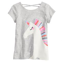 Girls 4-12 Jumping Beans® Crisscross-Back Tee