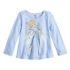 Disney's Frozen Elsa Toddler Girl 'Magic' Graphic Long-Sleeve Tee by Jumping Beans®