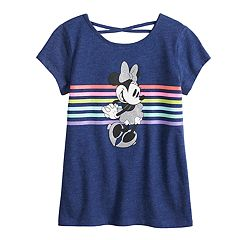 Disney's Minnie Mouse Girls 4-12 Crisscross-Back Top by Jumping Beans®