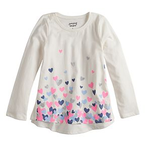 Girls 4-12 Jumping Beans® Long-Sleeve Swing Top