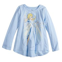 Disney's Frozen Elsa Girls 4-12 'Magic' Long-Sleeve Swing Top by Jumping Beans®