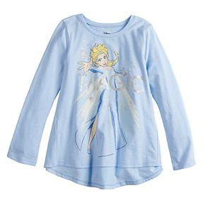 "Disney's Frozen Elsa Girls 4-12 ""Magic"" Long-Sleeve Swing Top by Jumping Beans®"