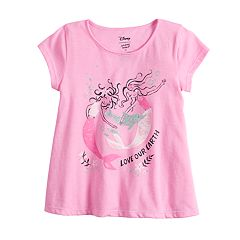 Toddler Girl Jumping Beans® Glittery Short-Sleeve Swing Top