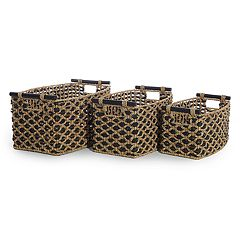 LaMont Home Jada 3-piece Storage Basket Set