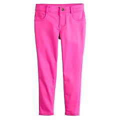 Girls 4-12 SONOMA Goods for Life™ Solid Skinny Crop Pants