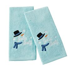Saturday Knight, Ltd. 2-pack Feeling Frosty Hand Towel Set
