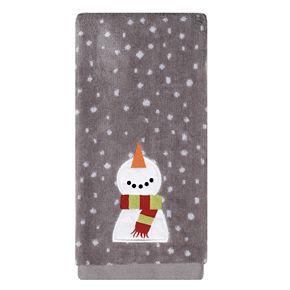 Saturday Knight, Ltd. 2-pack Happy Snowman Hand Towel Set