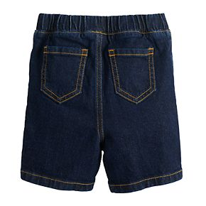 Baby Boy Jumping Beans® Pull On Denim Shorts