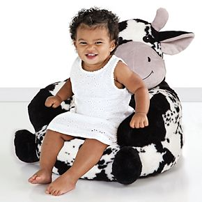 Trend Lab Cow Plush Character Chair