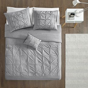 Intelligent Design Dana Jersey Tufted Comforter Set