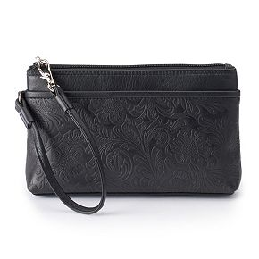 ili Cheyenne Leather Wristlet