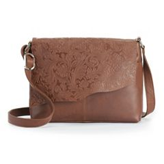 ili Cheyenne Leather Crossbody Bag