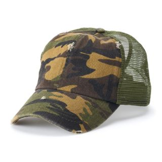 Women's Mudd® Camo Trucker Cap