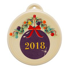 Fiesta Christmas Tree 2018 Ornament