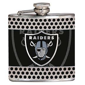 Oakland Raiders 6-Ounce Hip Flask