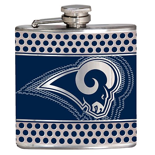 Los Angeles Rams 6-Ounce Hip Flask