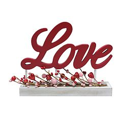 Celebrate Valentine's Day Together 'Love' Table Decor