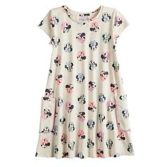 Disney's Minnie Mouse Girls 4-12 Print Swing Dress by Jumping Beans®