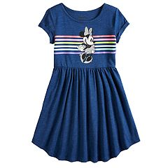 Disney's Minnie Mouse Girls 4-12 Shirttail-Hem Dress by Jumping Beans®