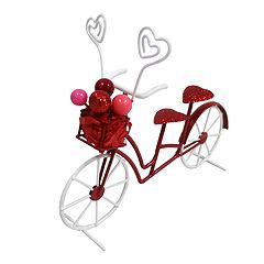Celebrate Valentine's Day Together Bicycle Photo Clip