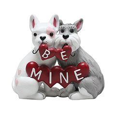 Celebrate Valentine's Day Together 'Be Mine' Puppy Table Decor