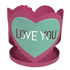 Celebrate Valentine's Day Together Sleeve Candle Jar Holder