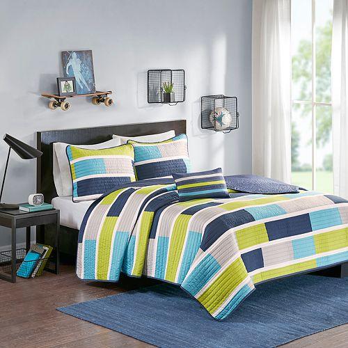 Mi Zone Nicholas Reversible Quilt Set