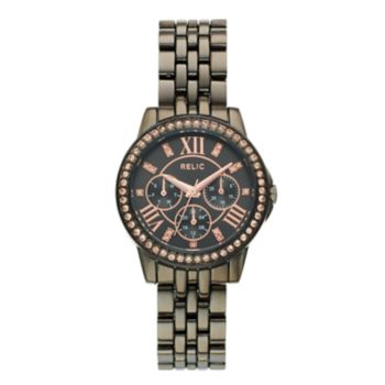 Relic Women's Layla Crystal Accent Watch - ZR15951