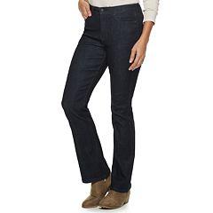 Women's Croft & Barrow® Classic Curvy Bootcut Jeans