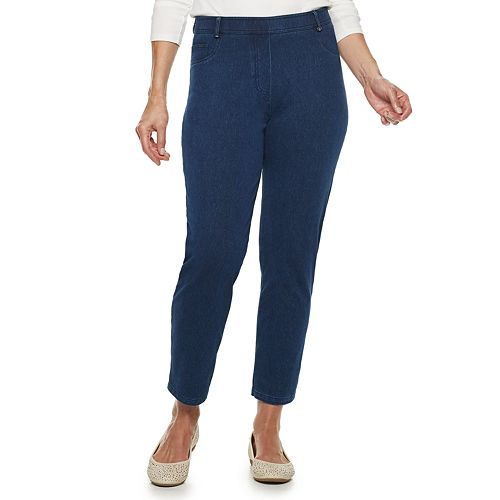 Women's Cathy Daniels Pull-On Ankle Jeans